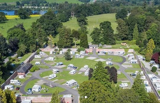 caravan site 540x350